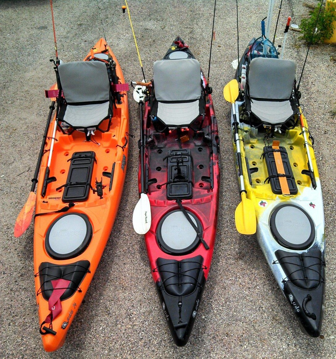 Freeport reds 5 25 13 tail tail signs for Fishing kayak with livewell