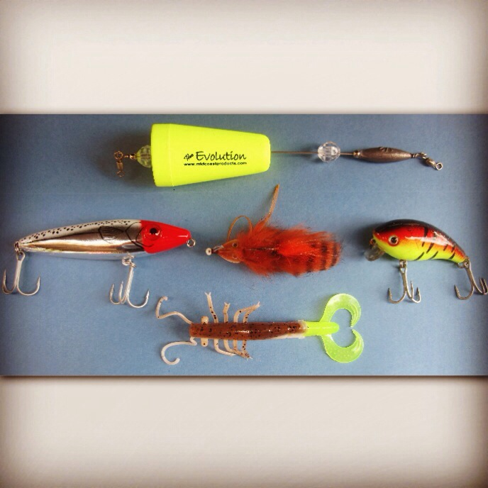 Five must have lures for spring time redfish tail tail signs for Best fishing times texas