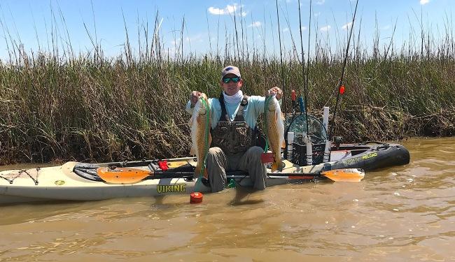 homemade kayak aerator tail tail signs marsh mud redfish